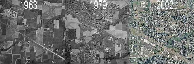 Historical aerial photos in Portland and Washington for purchase